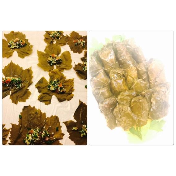 Vegetarian Stuffed Grape Leaves