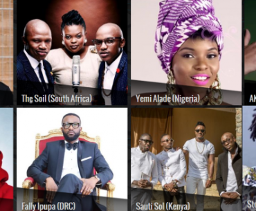 Top 5 Nominated and Most Won African Musicians At BET Awards