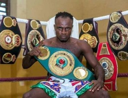 DNA Test Proves Boxer Emmanuel Tagoe's 14-yr-Old Child Is Not His