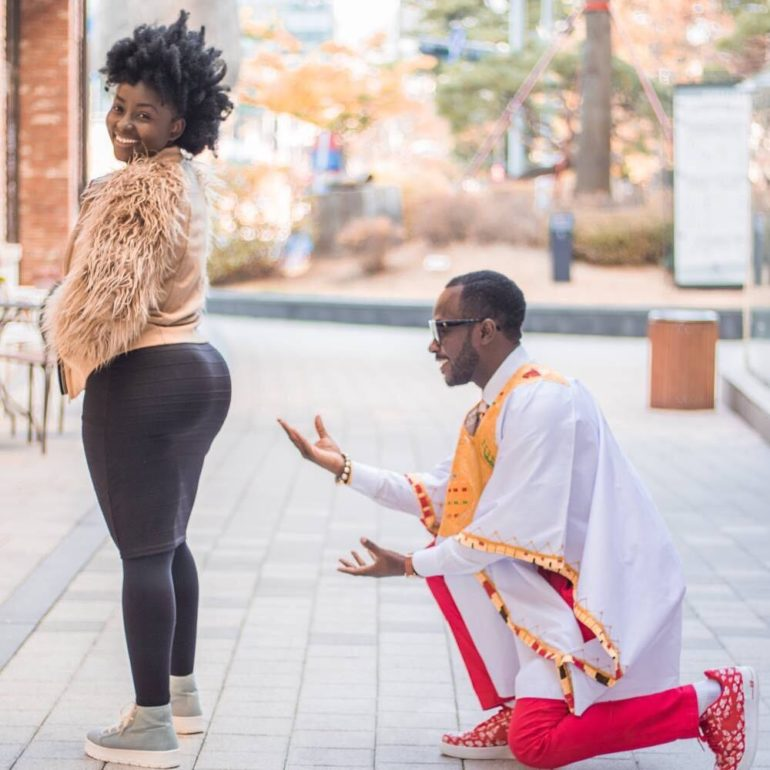No Marriage Is Perfect- Okyeame Kwame 'Admits' He Fights With His Wife