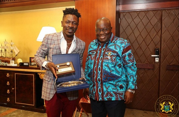 """Shatta Wale Hints Of Dropping A Song For Akofu-Addo Tittled """"Nana Ppaper"""""""