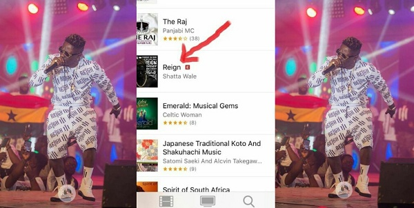 """Shatta Wale's """"Reign Album"""" Records Poor Performance On The World"""