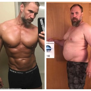 Father-of-Three Proudly Shows Off His RIPPED Body As He Reveals How He Lost 92LBS In Just Five Months