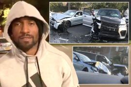 Jermain Defoe survives deadly car crash