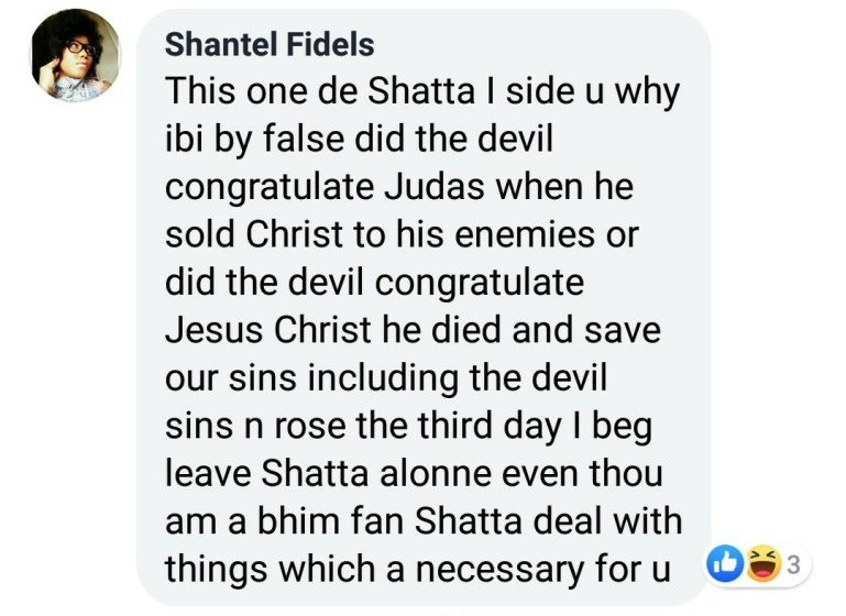 'Did Satan Congratulate Judas When He Betrayed Jesus? Leave Shatta Wale Alone!- Lady Charges 1