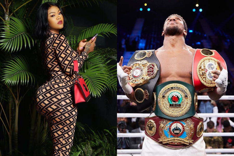 Daniella Okeke refers to Anthony Joshua as her spiritual husband