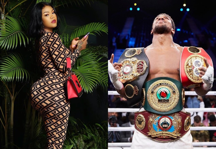 'My Spiritual Husband, Anthony Joshua Is Very Fine' – Nollywood Actress, Daniella Okeke