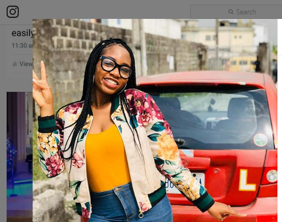 BBNaija's Khafi Involved In Accident; She Narrates All That Happened - GH Gossip