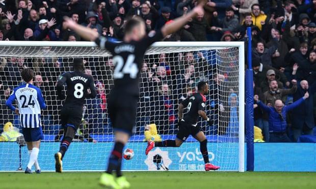 Crystal Palace boss Roy Hodgson hails Jordan Ayew after winning goal