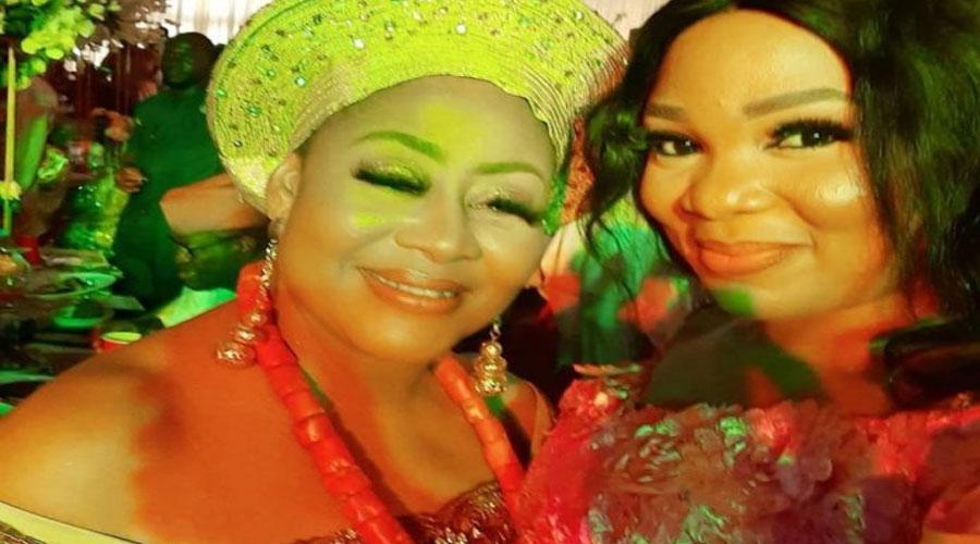 Nollywood Stars Grace Wedding Of Veteran Actress Ngozi Ezeonu's Daughter - GH Gossip