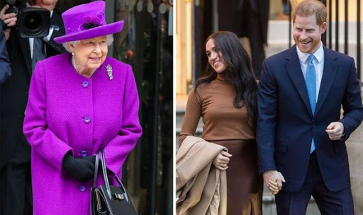 Queen 'demands Harry and Meghan stop using their royal titles'