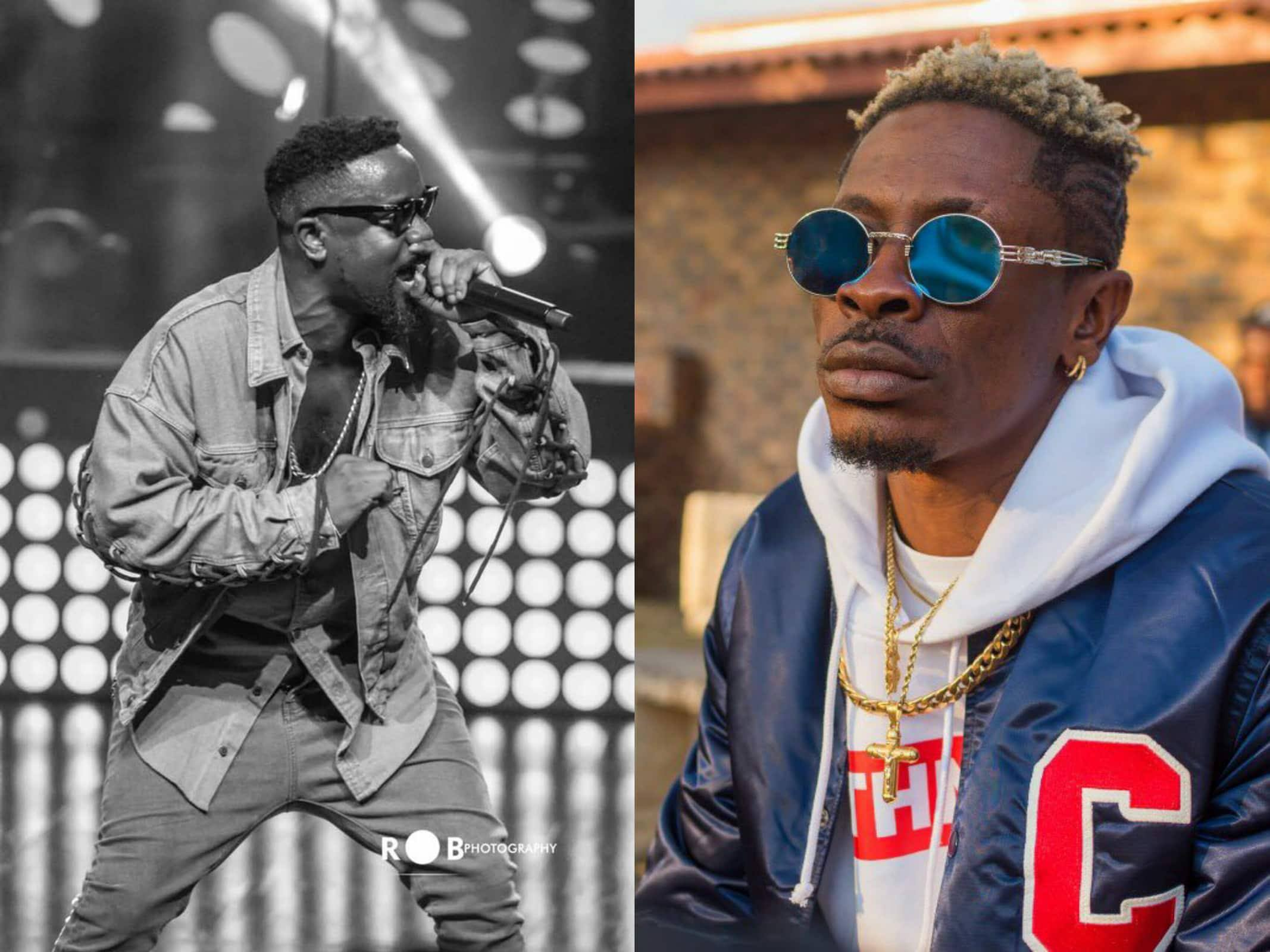 Shatta Wale Wishes Sarkodie A Happy Birthday On Live Radio - WATCH
