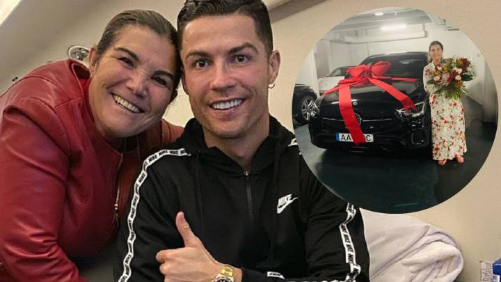 Ronaldo gifts mum sparkling new vehicle for Mother's Day & hails 'special' Georgina