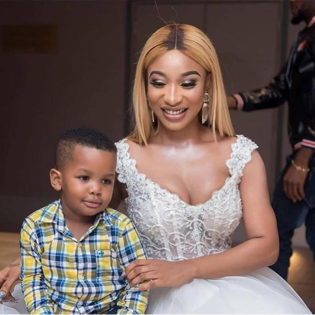 """""""Am Called A Mother Because Of You, Thank You, My Son"""" - Tonto Dikeh On Mother's Day 2"""
