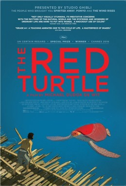 The Red Turtle Kinoposter #1 (englisch)
