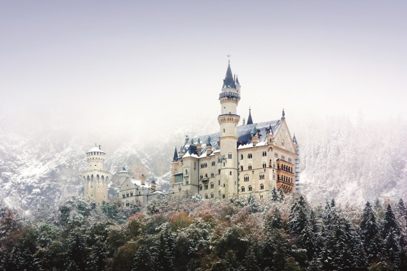 The model for Disney?s Sleeping Beauty castle, Neuschwanstein castle drips with fairytale glamour