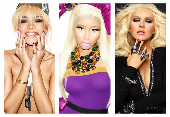 Rihanna-Nicki-Minaj-Christina-Aguilera