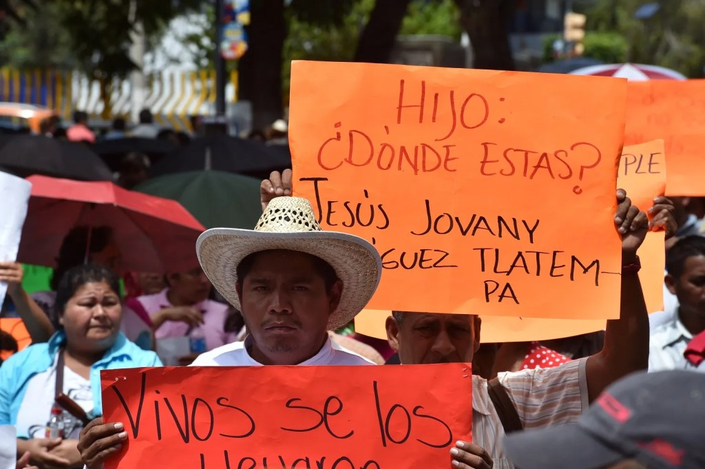 MEXICO-STUDENTS-PROTEST