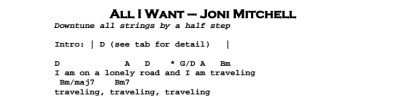 All I Want di Joni Mitchell