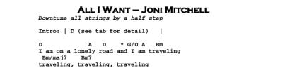 All I Want di Joni Mitchell