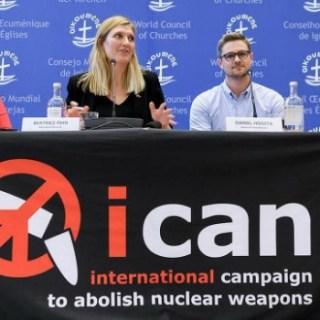 """Le campagne contro il disarmo nucleare """"conquistano"""" il Nobel."""