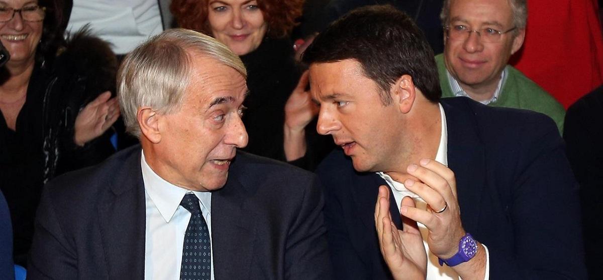 Giuliano Pisapia e Matteo Renzi