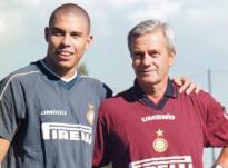 Gigi Simoni con Ronaldo