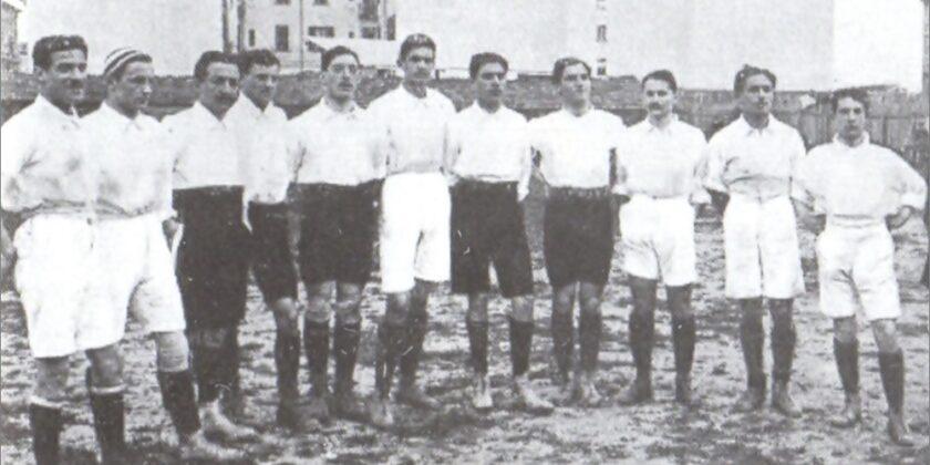 La prima formazione della Nazionale Italiana