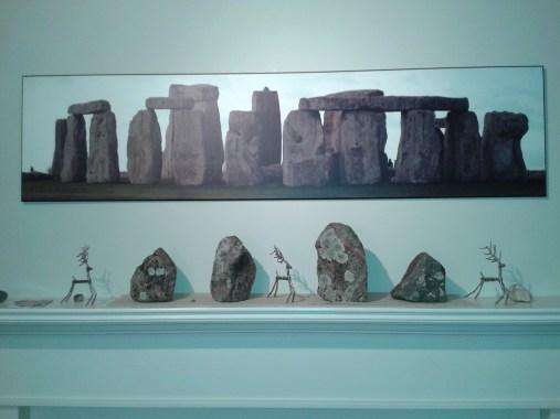 Stonehenge photo with Beausoleil rocks