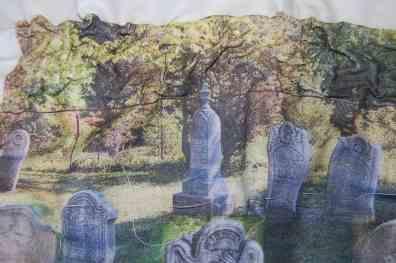 Gravestones at Haun, UEL Cemetery on Ott Rd. Stevensville