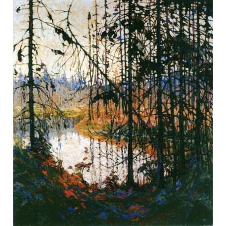 Tom Thomson, Northern River, c. 1914-15