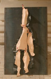 si peu reconnaissable, terre du beauvaisis, latex, 2006