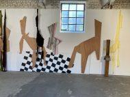 Vue d'exposition, Signes domestiques, L'H du Siège, Valenciennes, 2020