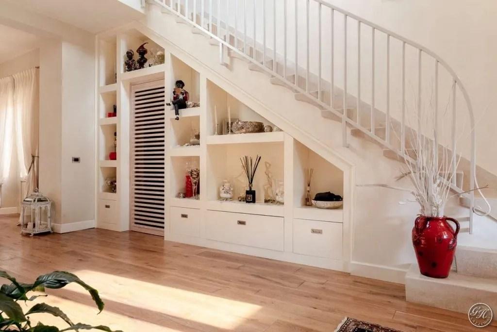 Small Kitchen Design Under Stairs