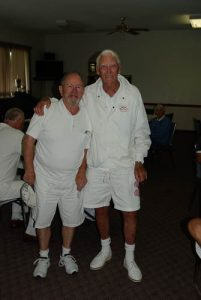 Corby Pairs Second Place Jim Hill and Herb Grew/Max Bodley-Scott.