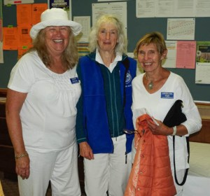2016 BSI Women's Fours 1 game winners Angelina Flath, Norma Alison and Debra Whitman. Mary Forster not in picture. Victoria.