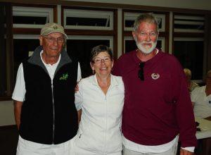 Fourth 3 game winner – Jeff Machan, Al Neumair, Gayle Wallach Oak Bay