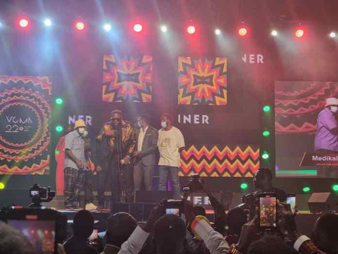 VGMA22: Medikal retains his title as 'Hiplife/ Hip-hop Artiste'