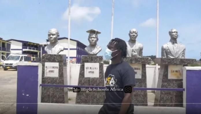 Aggrey Memorial A.M.E Zion Has The Most Diplomatic Senior High School Prefect In Ghana.
