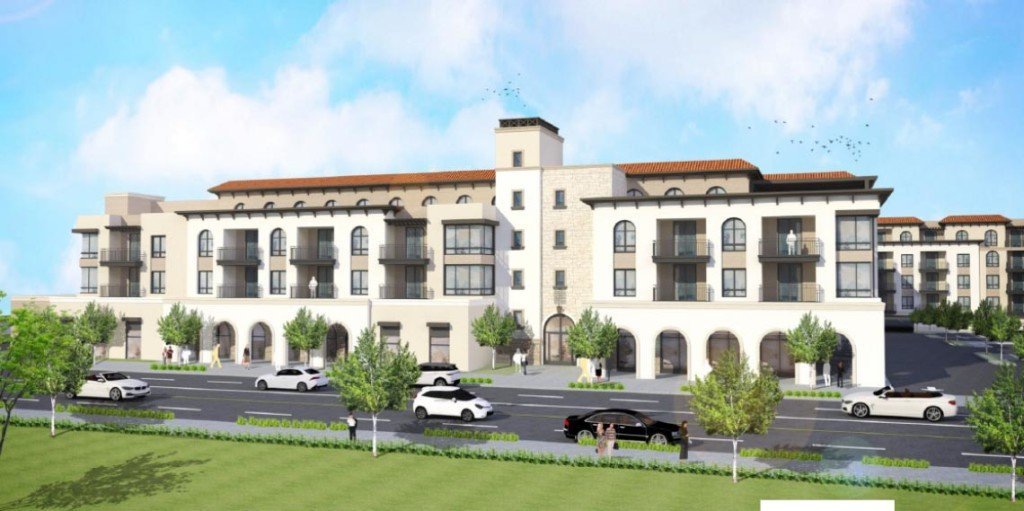 Rendering of the Woodley & San Fernando Mission Project (Image: LADCP)