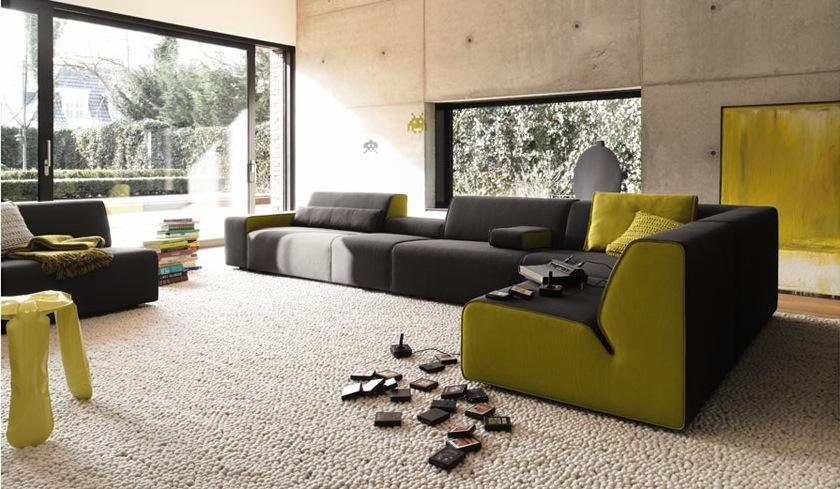 Green Living Room Furniture Sets