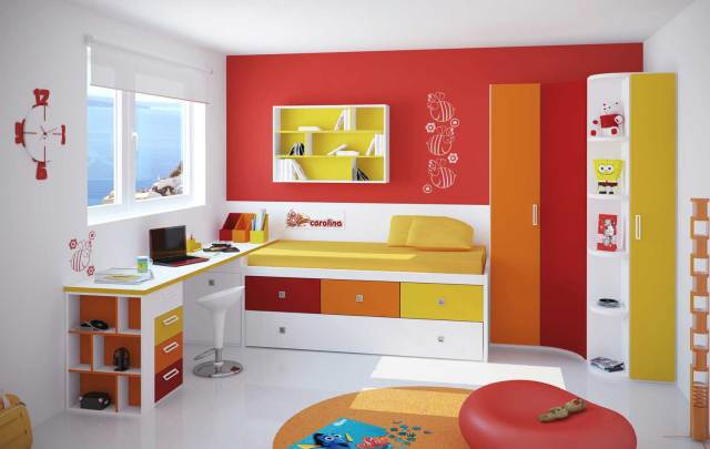 Modern Artistic Small & Cozy Rooms for Kids - Bedroom ...