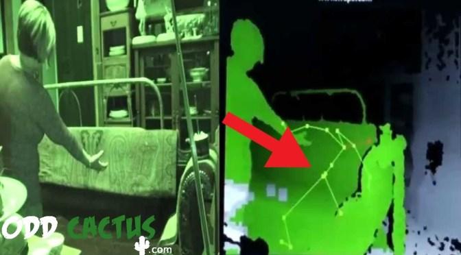 五個XBOX Kinect捕捉到的靈異畫面