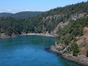 One of the many coves on the north shore of Deception Pass on Whidbey Island.