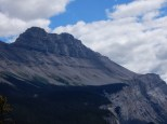 A view south from a overlook in Banff National Park.