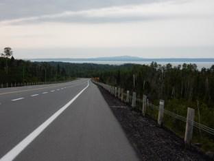 The north shore of Lake Superior, east of Nipigon, ON.