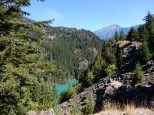 A look towards the eastern extent of Diablo Lake.