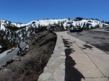 Still plenty of snow in Carson Pass in mid-May.