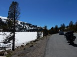 Caples Lake, just west of Carson Pass, is still frozen in mid-May.Caples Lake, just west of Carson Pass, is still frozen in mid-May.