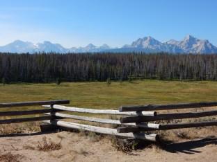 The Sawtooth Mountain range in Idaho.